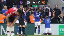 Leicester remonta y golea al United en regreso goleador de Rashford