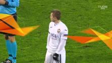 ¡GOOOL! Mislav Orsic anota para Dinamo Zagreb.
