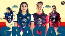 América Femenil anuncia dos salidas para el Apertura 2021