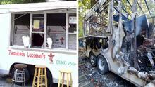 Hispano pierde su casa y camión de tacos en un incendio