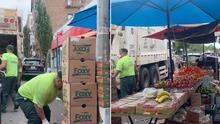 Destruyen puesto de venta ambulante a pesar de reclamos de vecinos de El Bronx