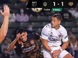 Javier 'Chicharito' Hernández se reencuentra con el gol en empate del Galaxy ante Houston