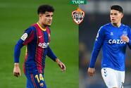 Coutinho y James, ofrecidos al Milan para reemplazar a Calhanoglu