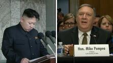 En un minuto: reunión secreta entre el director de la CIA y Kim Jong Un para encuentro con Trump