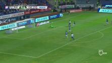 Corona salva a Cruz Azul tras remate de Cavallini