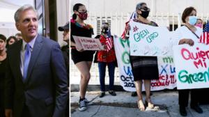 """McCarthy ataca propuesta de Biden y rechaza ciudadanía para 11 millones de inmigrantes """"ilegales"""""""
