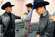 Diseñador mexicano presume que alista el traje de boda de Christian Nodal