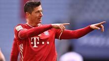 Lewandowski, otra vez elegido el 'Mejor Jugador' de la Bundesliga