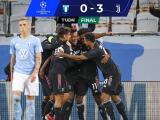 Juventus responde sin Cristiano y golea en casa 3-0 al Malmo
