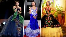 Diego Medel, el genio michoacano detrás de los coloridos vestidos de Ángela Aguilar