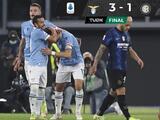 Lazio viene de atrás y vence al Inter, que se rezaga entre los punteros