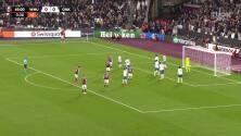 ¡Gol del West Ham! Dawson pone el 1-0 sobre el Genk en Londres