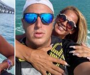 Al estilo JLo: Niurka Marcos presume a su nuevo galán mientras pasean en el mar de Miami