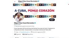 Esta campaña busca que Twitter elimine la cuenta de Miguel Díaz-Canel