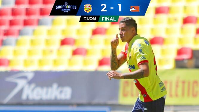 Resumen | Morelia hila triunfos al superar 2-1 a Correcaminos
