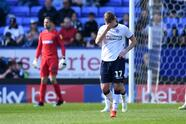 BOLTON, ENGLAND - APRIL 06: Callum Connolly of Bolton reacts after Ipswich's second goal during the Sky Bet Championship match between Bolton Wanderers and Ipswich Town at Macron Stadium on April 06, 2019 in Bolton, England. (Photo by Gareth Copley/Getty Images)