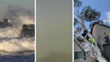 El sur de California entre avisos por fuertes vientos, heladas y hasta tormentas para este lunes