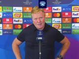 Ronald Koeman acepta que Barcelona es menos que Bayern