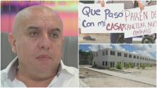 Habla dueño de constructora que no ha entregado casas a cientos de familias que compraron en preconstrucción