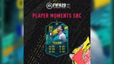 Florian Thauvin recibe una carta Moments en FIFA 20