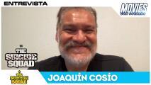 El icónico actor mexicano Joaquín Cosío nos cuenta cómo era la vida en el set de 'The Suicide Squad'