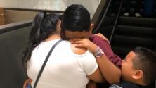 Exclusiva: El conmovedor reencuentro de un niño salvadoreño que fue separado de su familia por inmigración