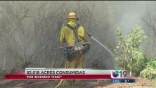 El incendio que amenaza 2 condados sigue incontrolable