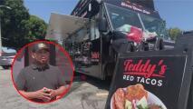 Este vendedor de tacos pasó de estar al borde de la muerte por el coronavirus a alcanzar el éxito en su negocio