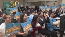El papa Francisco lanza 'Scholas', un programa para jóvenes sobre integración social y cultural