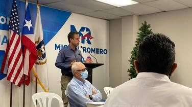 Miguel Romero demanda a Carmen Yulín para que comience la transición en San Juan