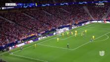 ¡GOL!  anota para Atlético de Madrid. Antoine Griezmann