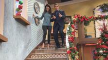 Detrás de cámaras: Ana Patricia le tiene miedo a subir las escaleras del estudio