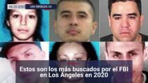 Estos son los más buscados por el FBI en Los Ángeles en 2020