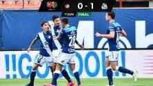 Puebla da el 'campanazo' y derrota al Atlético de San Luis sin público