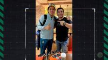 ¡Emotivo! Guillermo Ochoa presume foto con Salvador Cabañas
