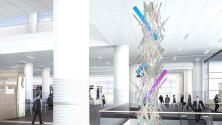 El Aeropuerto Internacional de Salt Lake City es una galería de arte que celebra la belleza de Utah