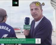 ¡Fichaje estrella en TUDN! Cristóbal Soria y el color de Atleti vs. Porto