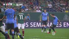 ¡Goool de Luis Suárez! Cae el segundo para Uruguay