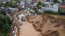 Impresionantes imágenes de las inundaciones en Europa que dejan al menos 120 fallecidos