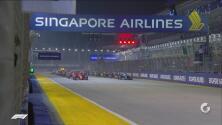 Impecable: así fue el arranque del GP de Singapur