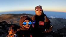 Rafa Jaime, el alpinista mexicano invidente que se prepara para el Everest