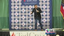 Ted Cruz de campaña en Georgia