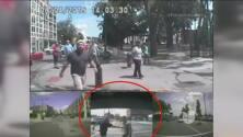 Aterrador ataque a un policía en Wisconsin