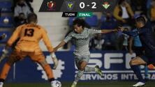 Con gol de Guido Rodríguez, Betis avanzó en Copa del Rey
