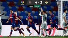 Levante propinó al Real Betis su novena derrota