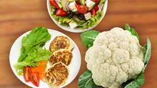 Pan de coliflor para acompañar tus comidas: es perfecto para ensaladas