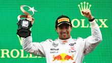 Checo Pérez es tercero en el GP de Turquía; Red Bull hace el 2-3