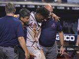 Ronald Acuña Jr. sufre ruptura de ligamento y dice adiós a la temporada