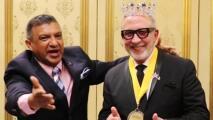 Coronan a Emilio Estefan como 'Rey de las Fiestas Patrias' en Las Vegas y proclaman como su día el 17 de septiembre