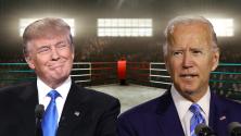 """""""En los primeros segundos"""": Donald Trump asegura que le haría un 'knock out' a Joe Biden en el ring"""